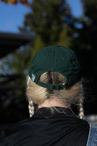 Green Big E Hat