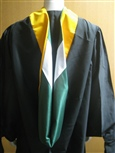 Graduation Hoods for MES, MIT and MPA graduates