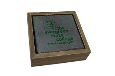 Tree Slate Coaster Set