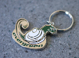 Geoduck Key Tag - Metal