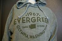 Hoodie Evergreen 1967 OlyWA