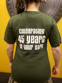 KAOS 45th Anniversary T shirt
